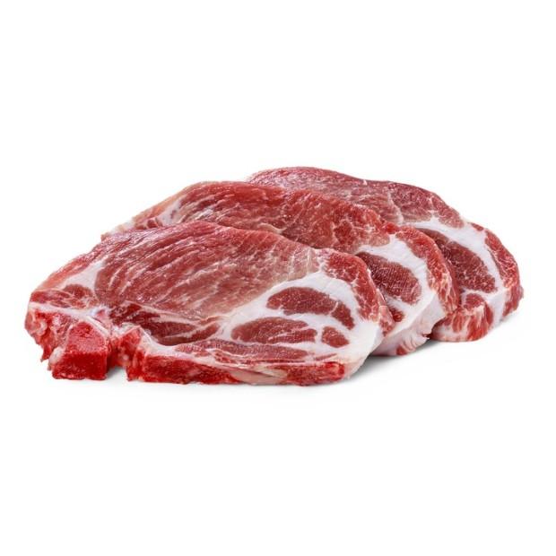 (RO) Ceafă Porc cu Os Feliată
