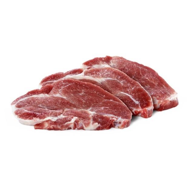 Ceafă Porc fără Os Feliată
