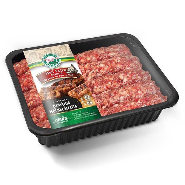 Mici din Carne de Porc și Vită Extra Usturoi
